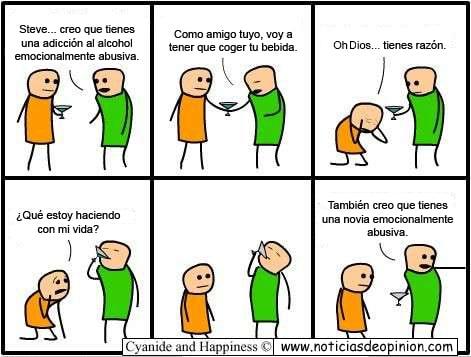 Humor - Viñeta - Cyanide and happiness en español