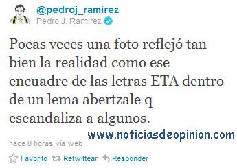 El Mundo foto ETA twitter periodistas pillines