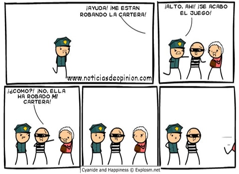Viñetas Cyanide and happiness en español