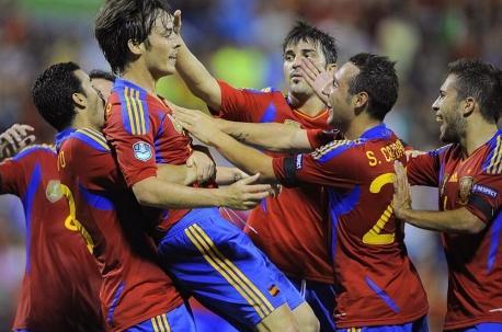España candidata a ganar la Euro 2012 por su buen juego