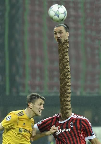 Fotos divertidas de Ibrahimovic original