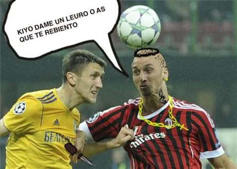 Fotos divertidas de Ibrahimovic