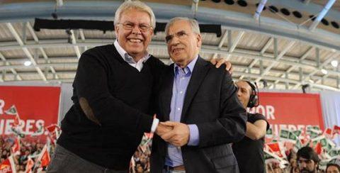 Elecciones generales 2011 20N Gonzalez y Alfonso Guerra