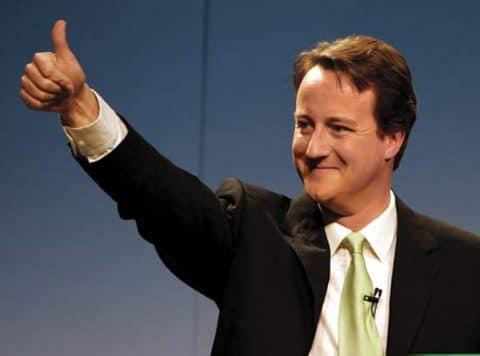 Recortes de David Cameron en Reino Unido