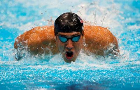 Michael Phelps en Londres 2012